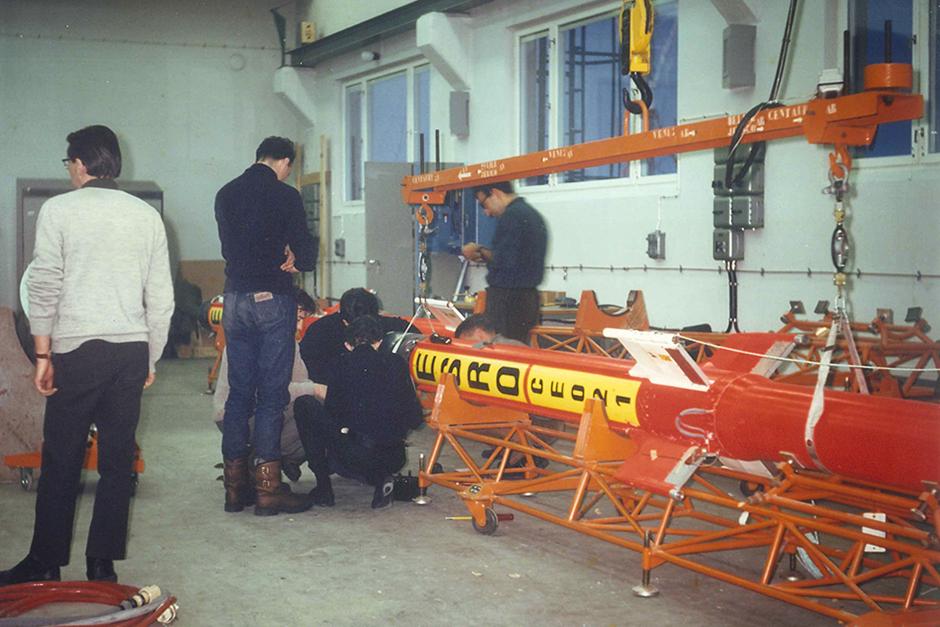 Centre Spatial de Lège (CSL) - Premier lancement d'une fusée sonde