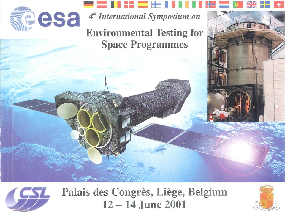 Centre Spatial de Lège (CSL) - Organisation à Liège du Congrès de l'ESA