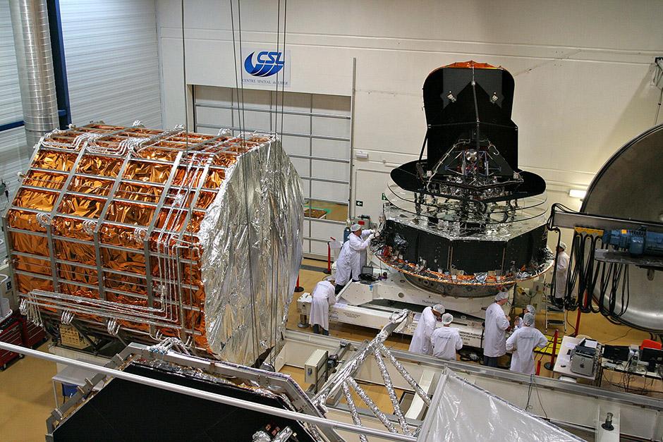 Centre Spatial de Lège (CSL) - Participation au programme Planck-Herschel et deuxième extension des bâtiments