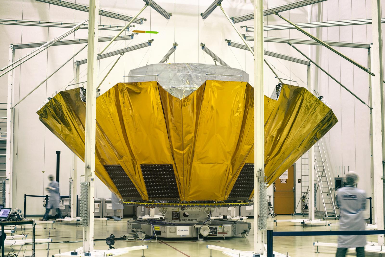 Centre Spatial de Lège (CSL) - Participation au programme Gaia et modification des installations de test