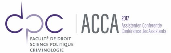 Assistentenconferentie / Conférence des assistants